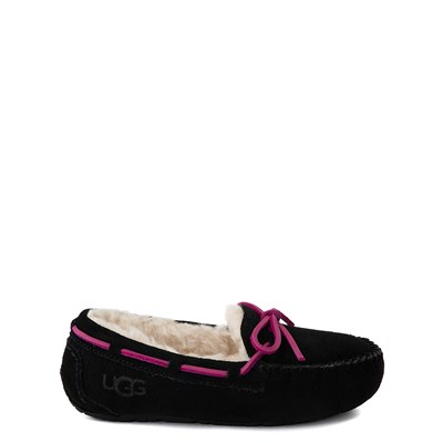 Main view of UGG® Dakota Slipper - Little Kid / Big Kid - Black