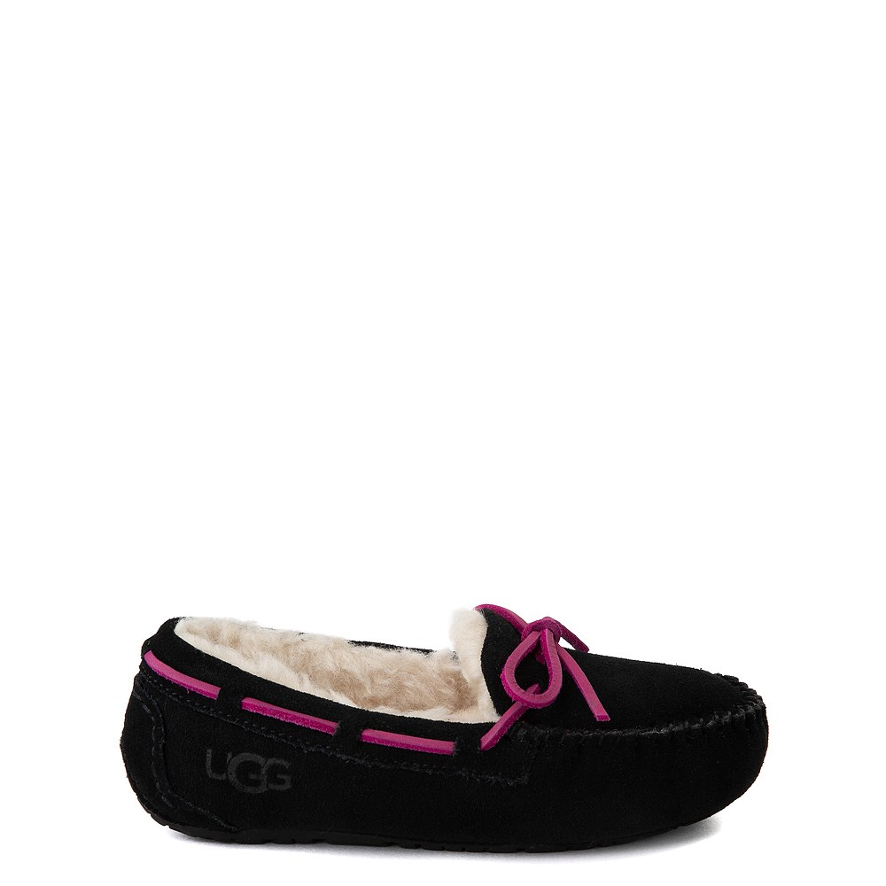UGG® Dakota Slipper - Little Kid / Big Kid - Black
