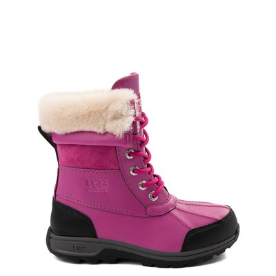 Main view of UGG® Butte II Boot - Little Kid / Big Kid - Fuchsia