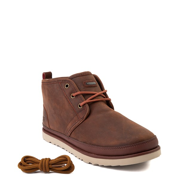 alternate view Mens UGG® Neumel Waterproof Casual Shoe - ChestnutALT1