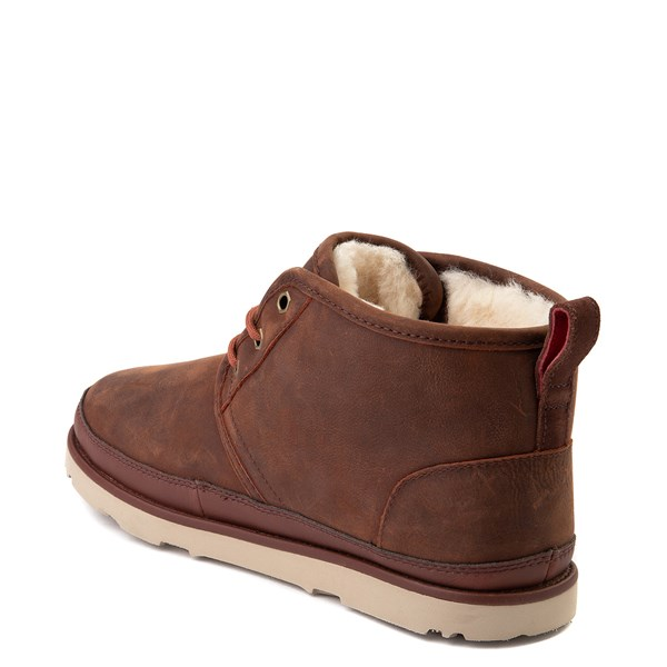 alternate view Mens UGG® Neumel Waterproof Casual Shoe - ChestnutALT2