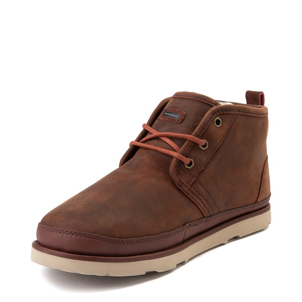 alternate view Mens UGG® Neumel Waterproof Casual Shoe - ChestnutALT3