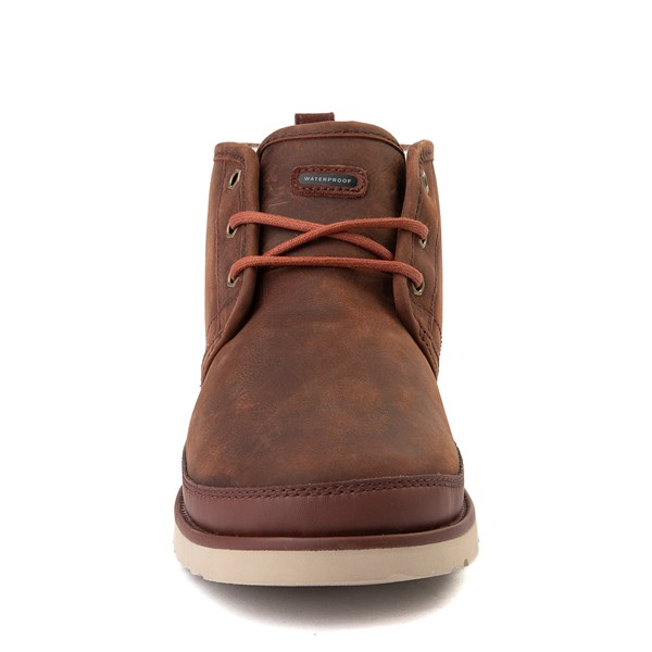 alternate view Mens UGG® Neumel Waterproof Casual Shoe - ChestnutALT4