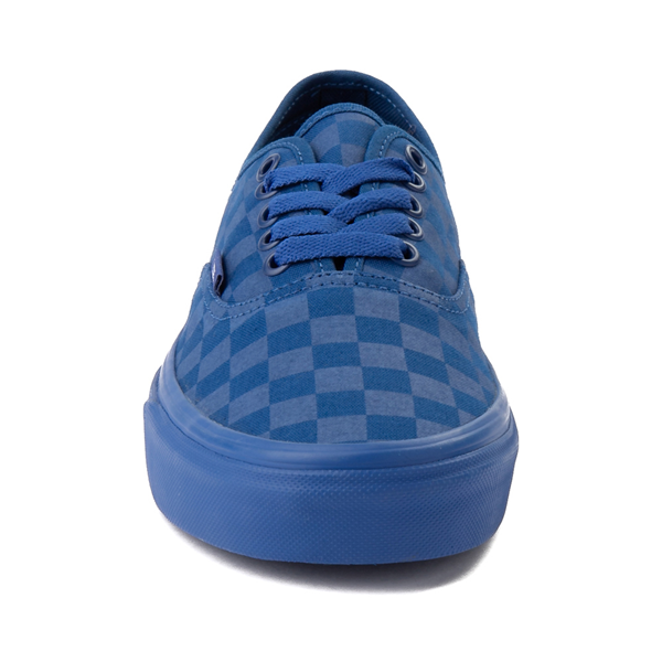 alternate view Vans Authentic Tonal Checkerboard Skate Shoe - True BlueALT4