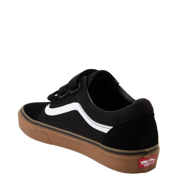 alternate view Vans Old Skool V Skate Shoe - Black / GumALT1