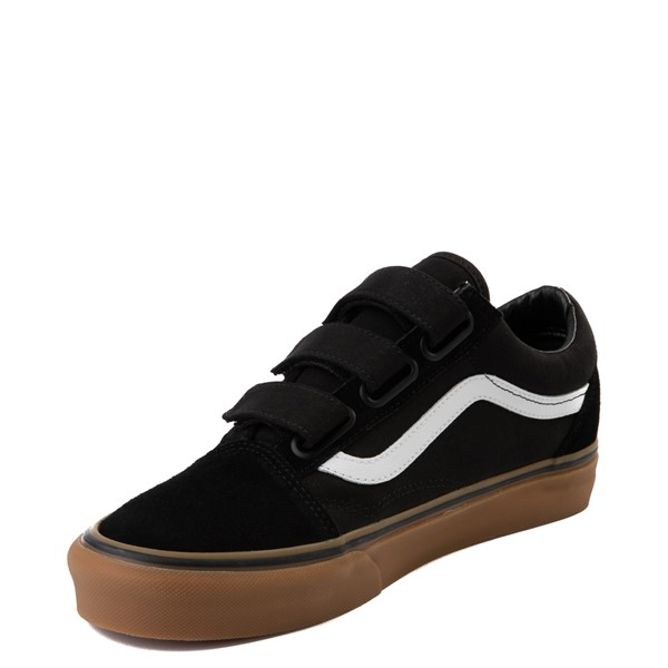 alternate view Vans Old Skool V Skate Shoe - Black / GumALT2