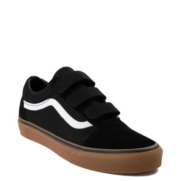 alternate view Vans Old Skool V Skate Shoe - Black / GumALT5