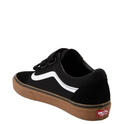 Alternate view of Vans Old Skool V Skate Shoe - Black / Gum