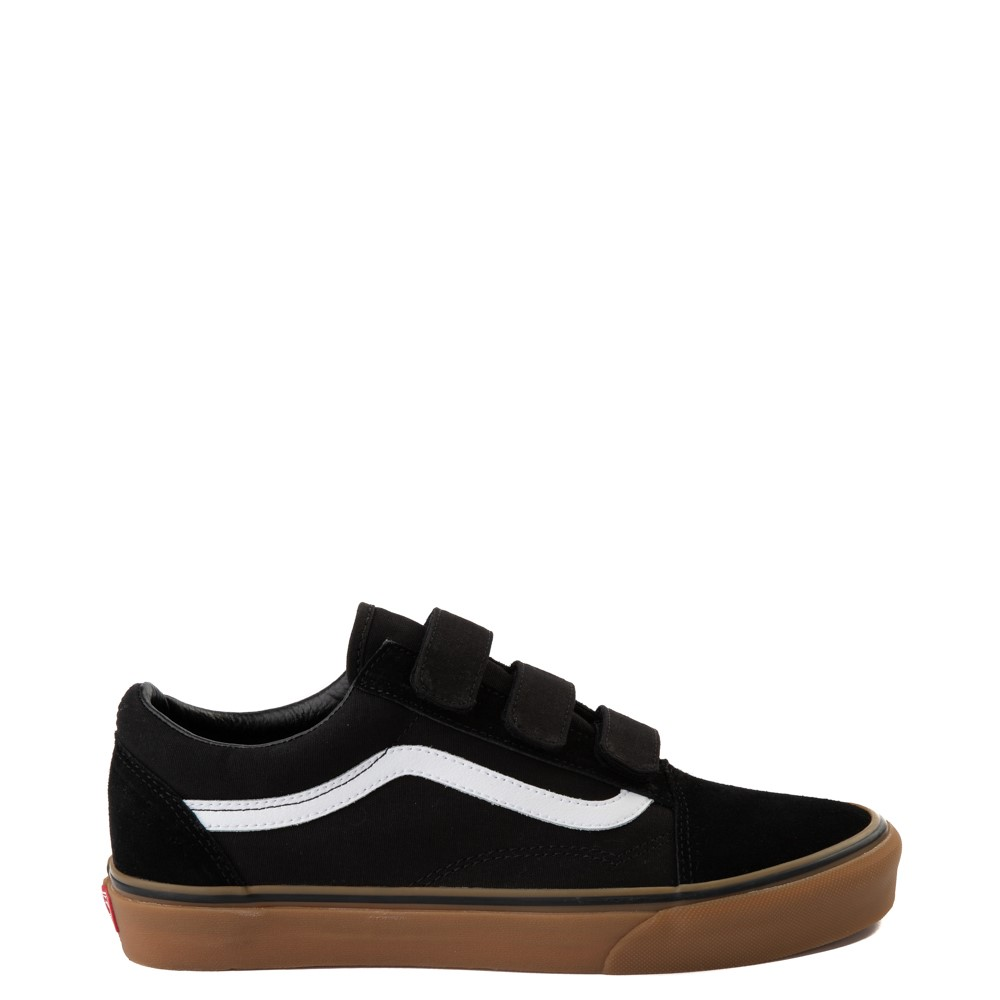 Vans Old Skool V Skate Shoe - Black / Gum