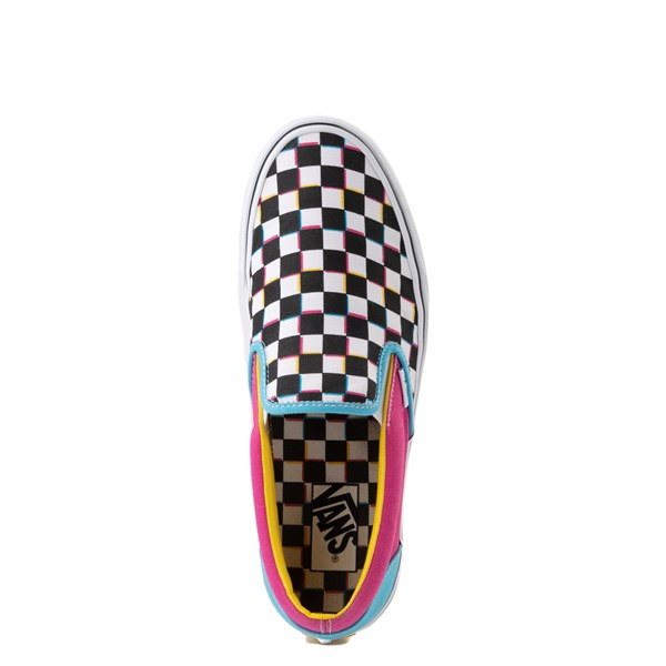 alternate view Vans Slip On Checkerboard Skate Shoe - MultiALT4B
