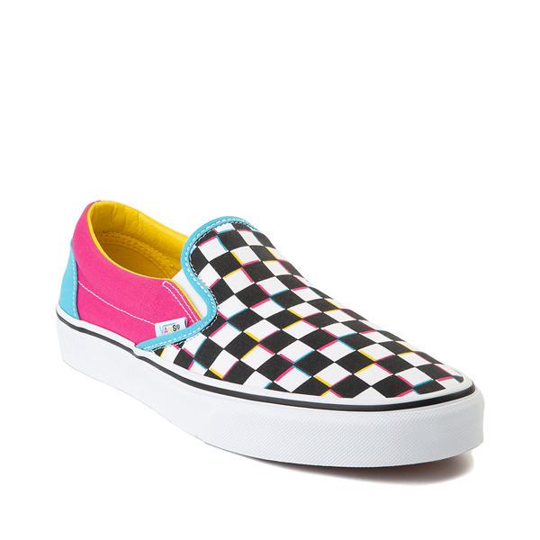 alternate view Vans Slip On Checkerboard Skate Shoe - MultiALT5