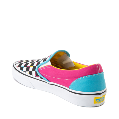 Alternate view of Vans Slip On Checkerboard Skate Shoe - Multi