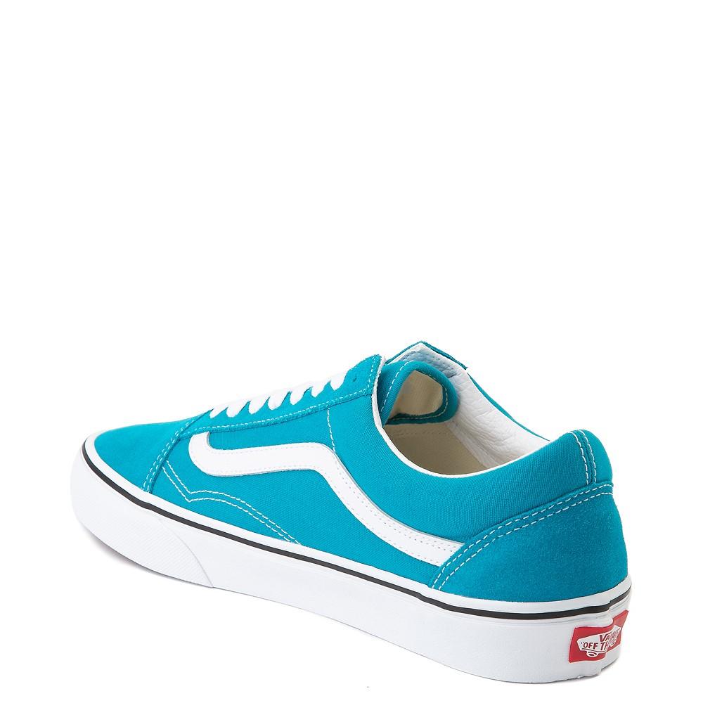Vans Old Skool Skate Shoe - Caribbean Sea
