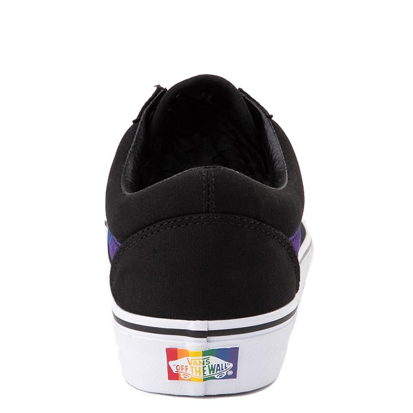 alternate view Vans Old Skool Skate Shoe - Black / RainbowALT2B