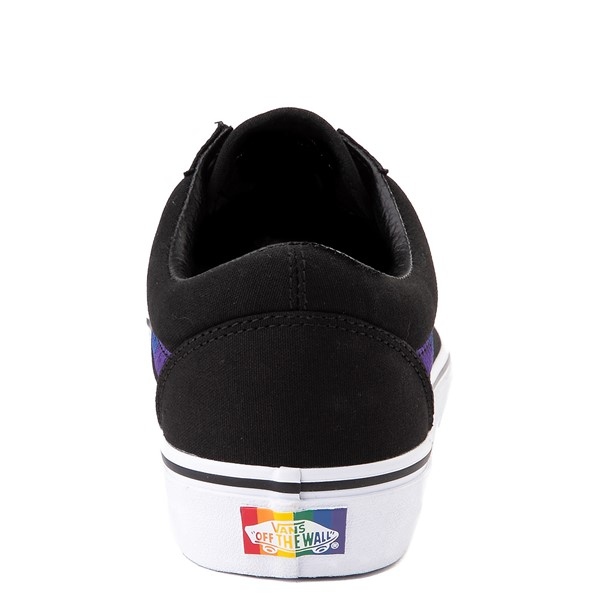 alternate view Vans Old Skool Skate Shoe - Black / RainbowALT4