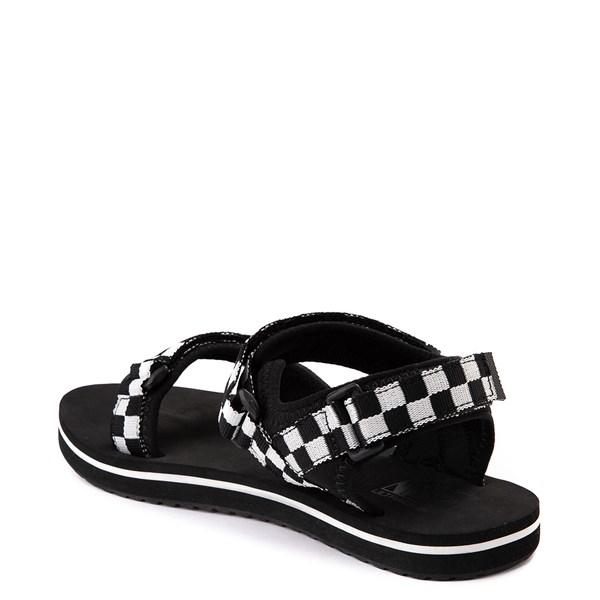 alternate view Womens Vans Tri-Lock Checkerboard Sandal - Black / WhiteALT2