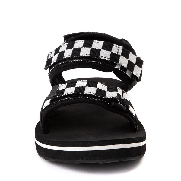 alternate view Womens Vans Tri-Lock Checkerboard Sandal - Black / WhiteALT4