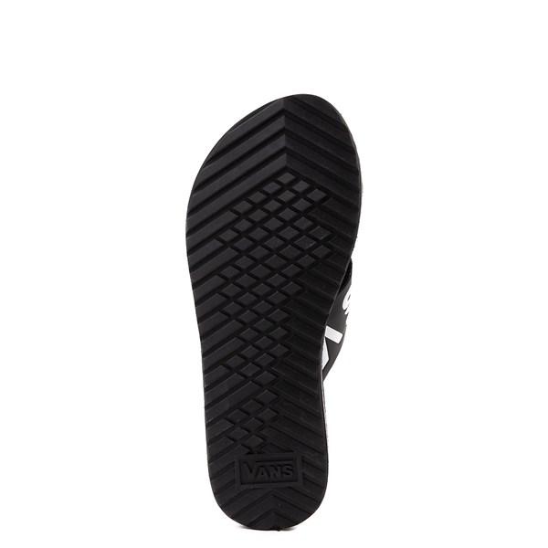 alternate view Womens Vans Cross Strap Sandal - Black / WhiteALT5