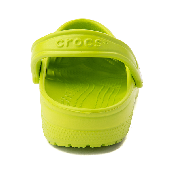 alternate view Crocs Classic Clog - Lime PunchALT4