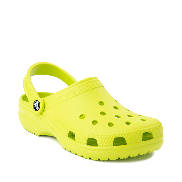 alternate view Crocs Classic Clog - Lime PunchALT5