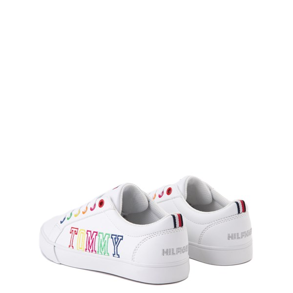 alternate view Tommy Hilfiger Arrin Casual Shoe - Little Kid / Big Kid - White / MultiALT2