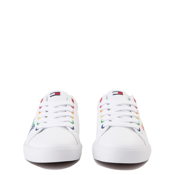 alternate view Tommy Hilfiger Arrin Casual Shoe - Little Kid / Big Kid - White / MultiALT4