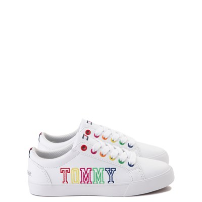 Main view of Tommy Hilfiger Arrin Casual Shoe - Little Kid / Big Kid - White / Multi