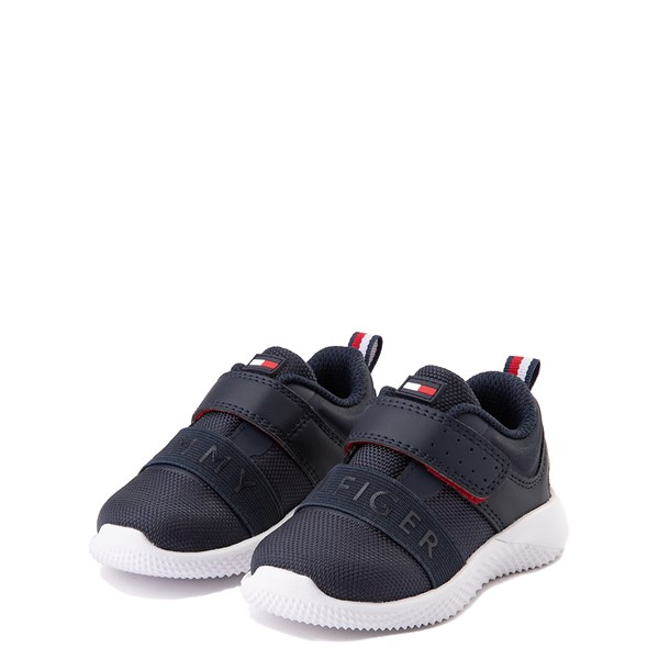 alternate view Tommy Hilfiger Cadet Athletic Shoe - Baby / Toddler - NavyALT3