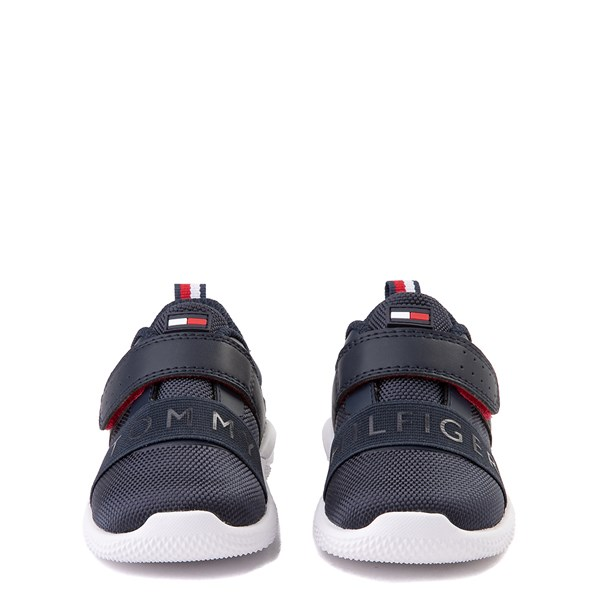 alternate view Tommy Hilfiger Cadet Athletic Shoe - Baby / Toddler - NavyALT4