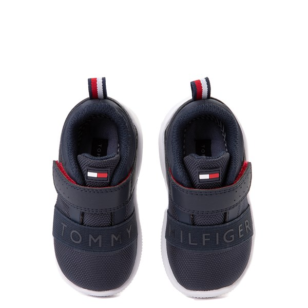 alternate view Tommy Hilfiger Cadet Athletic Shoe - Baby / Toddler - NavyALT6
