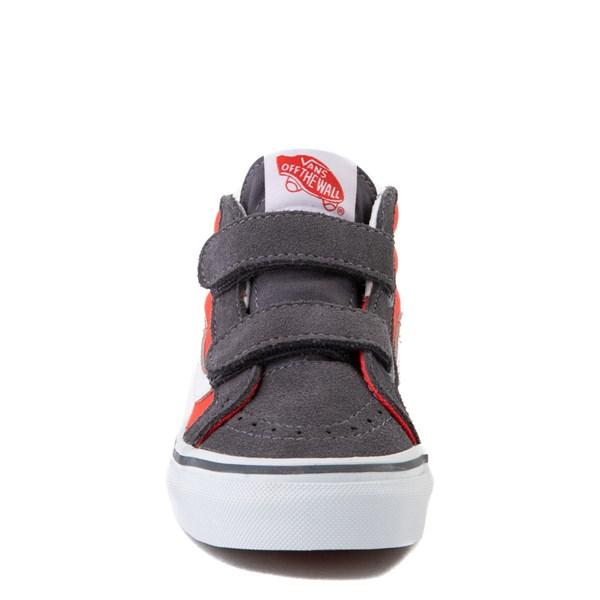 alternate view Vans Sk8 Mid Reissue V Skate Shoe - Little Kid - Grenadine / PeriscopeALT4