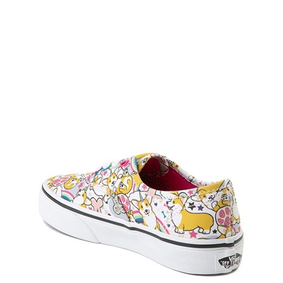 Alternate view of Vans Authentic Uni-Corgi Skate Shoe - Little Kid - Multicolor