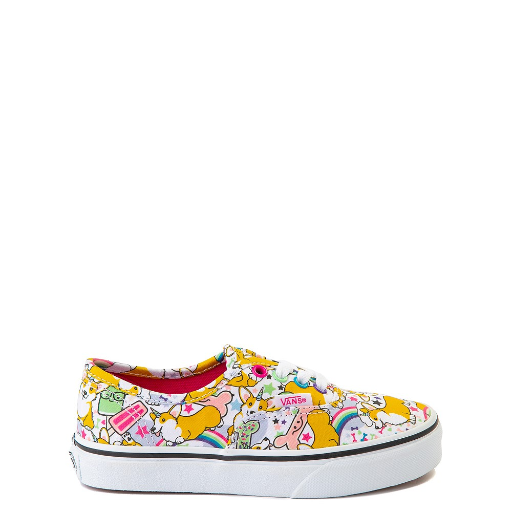 Vans Authentic Uni-Corgi Skate Shoe - Little Kid - Multicolor