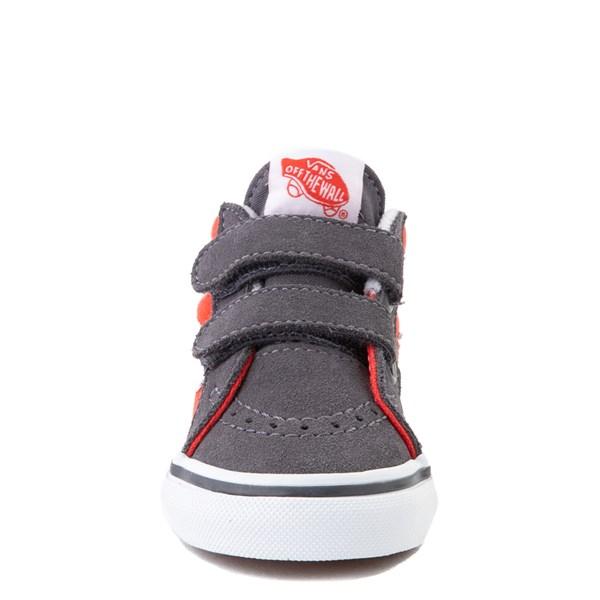 alternate view Vans Sk8 Mid Reissue V Skate Shoe - Baby / Toddler - Grenadine / PeriscopeALT4