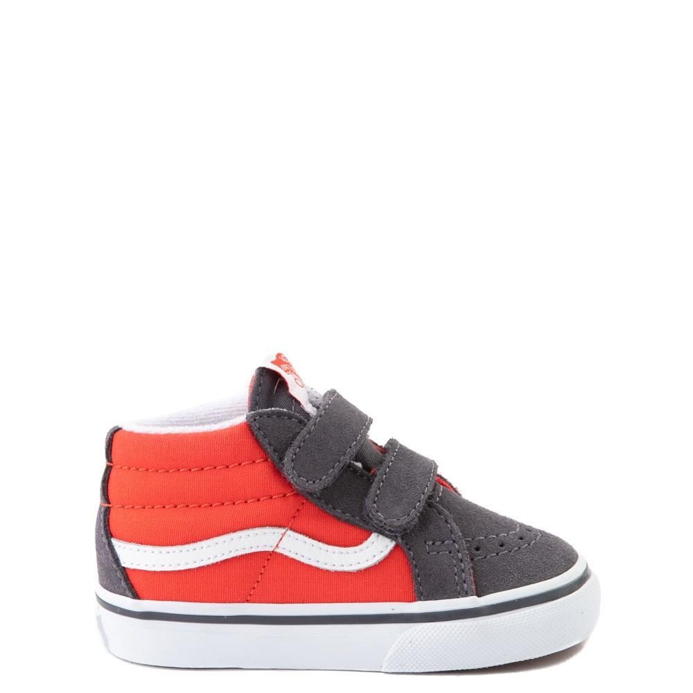 Vans Sk8 Mid Reissue V Skate Shoe - Baby / Toddler - Grenadine / Periscope