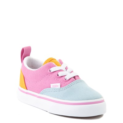 Alternate view of Vans Era Color-Block Skate Shoe - Baby / Toddler - Multi