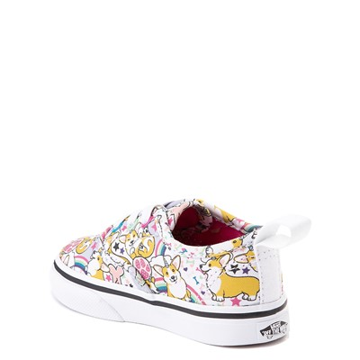 Alternate view of Vans Authentic Uni-Corgi Skate Shoe - Baby / Toddler - Multi