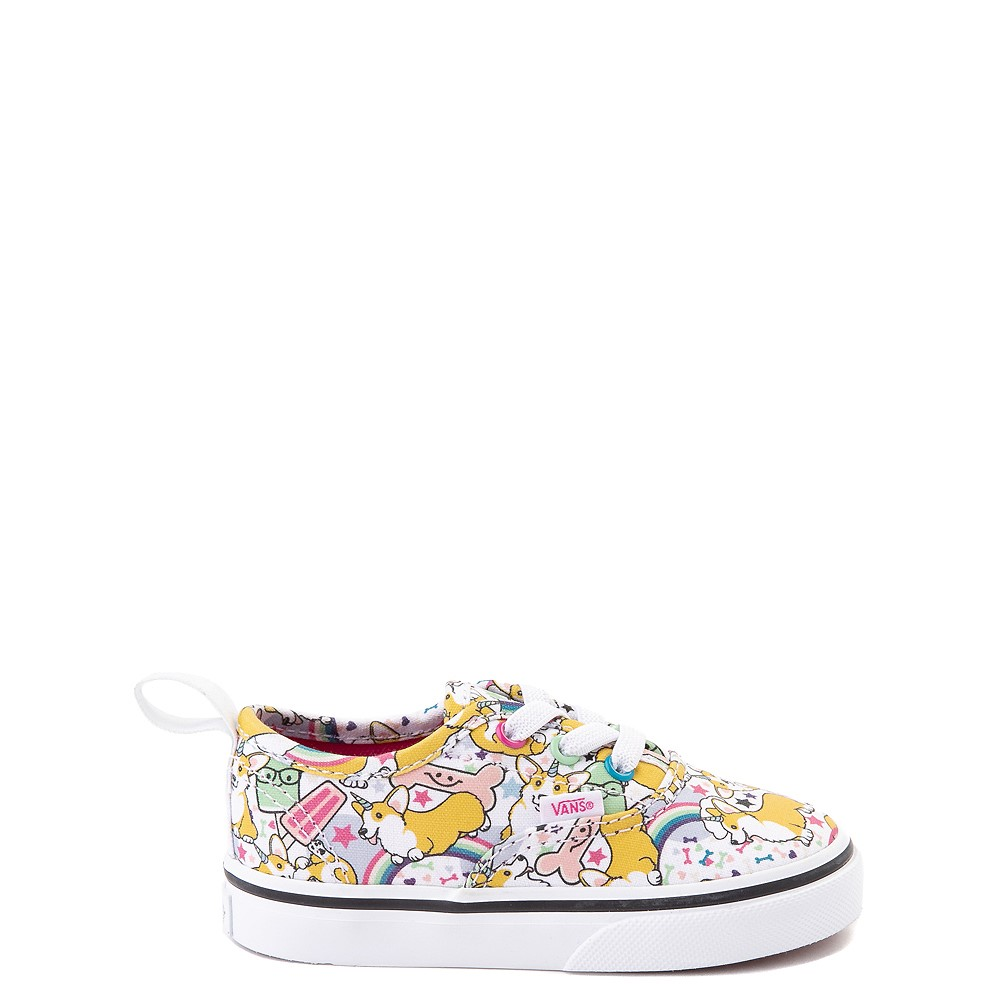 Vans Authentic Uni-Corgi Skate Shoe - Baby / Toddler - Multi
