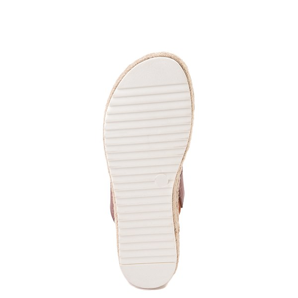 alternate view Womens Madden Girl Cheryl Espadrille Platform Sandal - CognacALT5