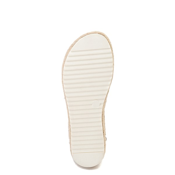 alternate view Womens Madden Girl Carly Espadrille Platform Sandal - WhiteALT3