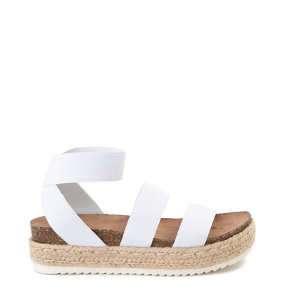 Main view of Womens Madden Girl Carly Espadrille Platform Sandal - White