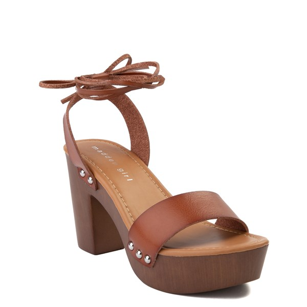 alternate view Womens Madden Girl Leo Heel - CognacALT1