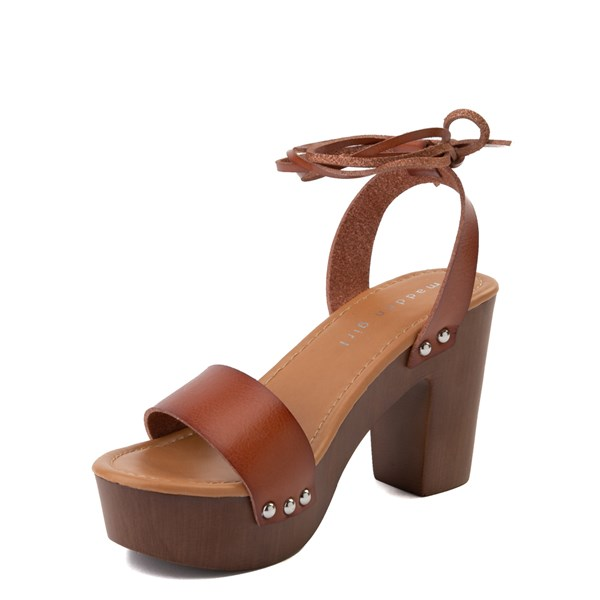 alternate view Womens Madden Girl Leo Heel - CognacALT3