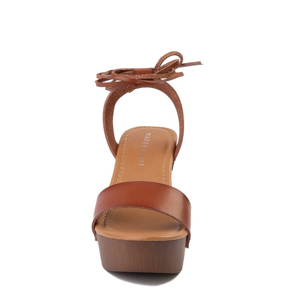 alternate view Womens Madden Girl Leo Heel - CognacALT4