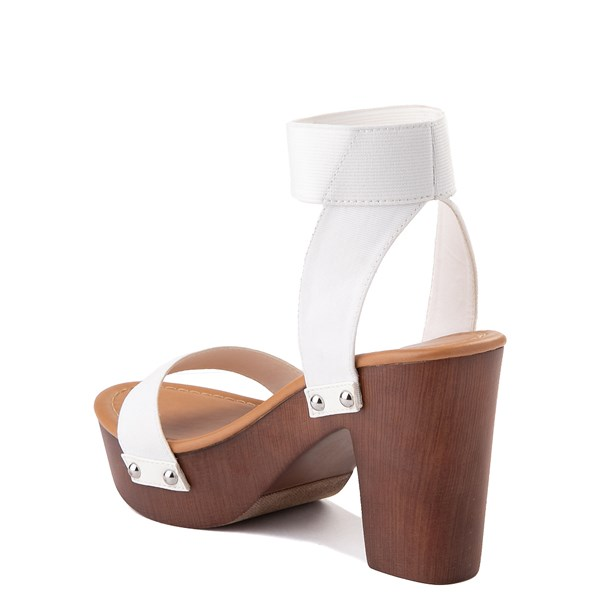 alternate view Womens Madden Girl Lyon Heel - WhiteALT2