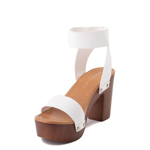 alternate view Womens Madden Girl Lyon Heel - WhiteALT3
