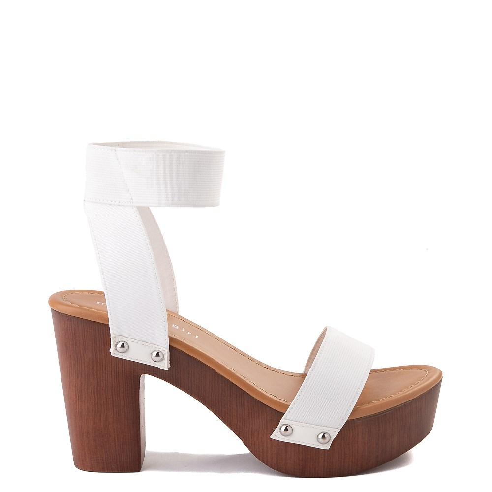 Womens Madden Girl Lyon Heel - White