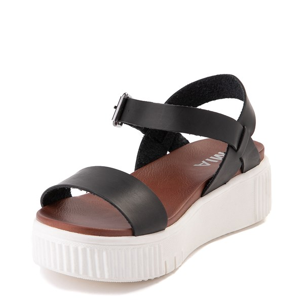 alternate view Womens MIA Ameera Platform Sandal - BlackALT3