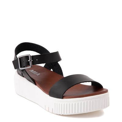 Alternate view of Womens MIA Ameera Platform Sandal - Black