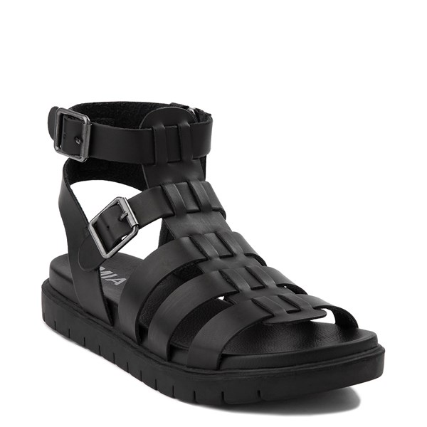 alternate view Womens MIA Carlynn Gladiator Sandal - BlackALT1